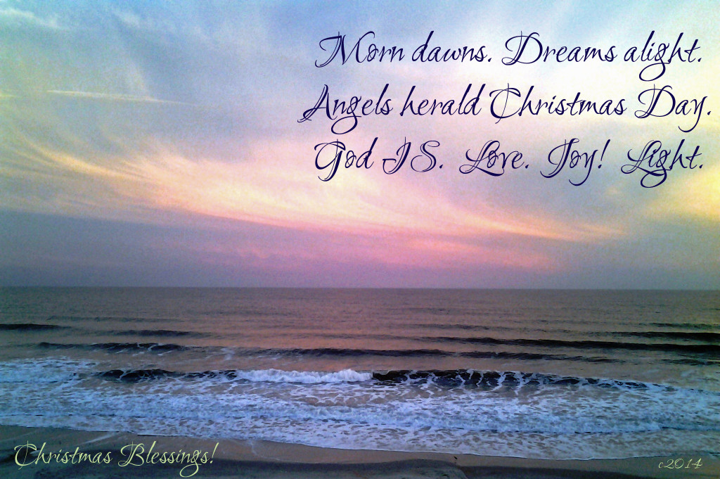CHRISTMAS BLESSINGS Photography and Poetry by Maureen M Gavan ©2015 MMG