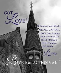 Got Love?! It's an ACTION Verb!